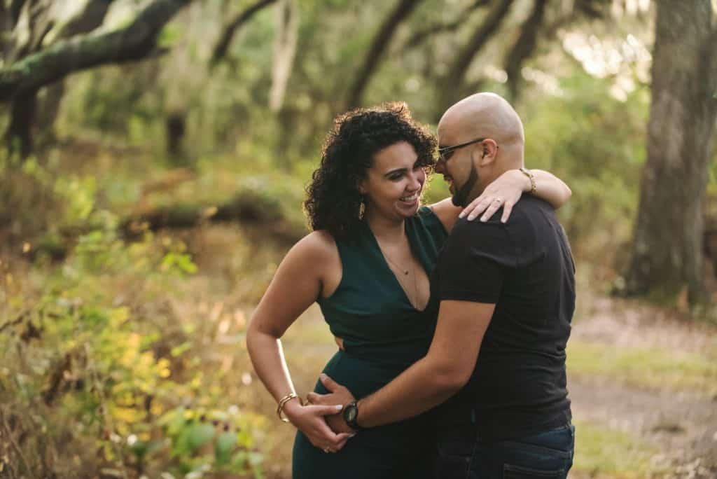 St Cloud Preserve outdoor Engagement Session